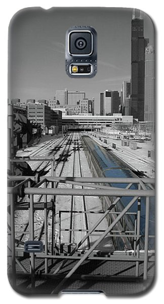 Galaxy S5 Case featuring the photograph Chicago Amtrak by Dylan Punke