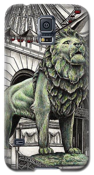 Chicago Art Institute Lion Galaxy S5 Case