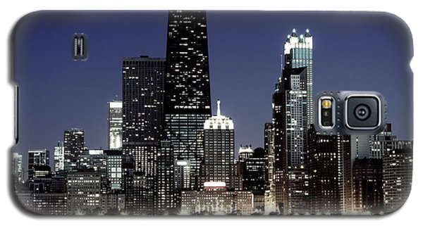 Chicago At Night High Resolution Galaxy S5 Case