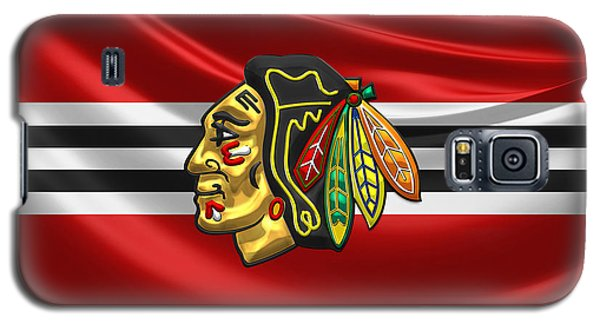 Sport Galaxy S5 Case - Chicago Blackhawks by Serge Averbukh