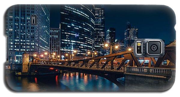 Chicago Blue II Galaxy S5 Case