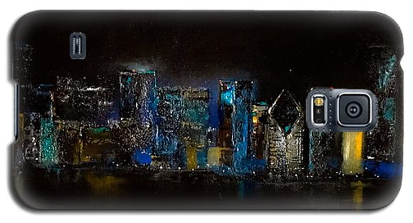 Chicago City Scene Galaxy S5 Case by Michele Carter