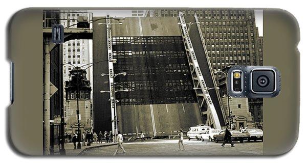 Old Chicago Draw Bridge - Vintage Photo Art Print Galaxy S5 Case