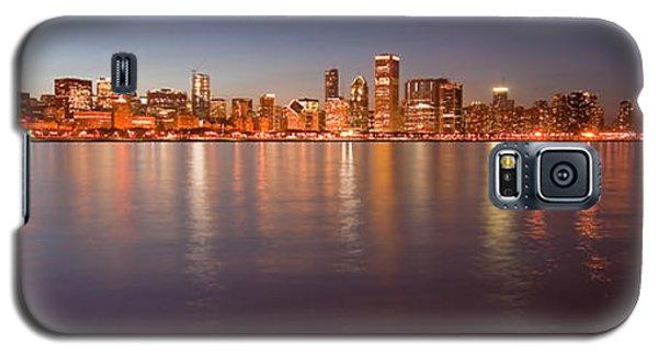 Chicago Dusk Skyline Panoramic  Galaxy S5 Case