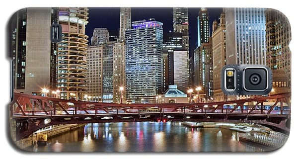 Chicago Full City View Galaxy S5 Case by Frozen in Time Fine Art Photography