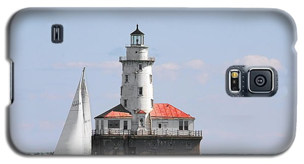 Chicago Harbor Lighthouse Galaxy S5 Case by Christine Till