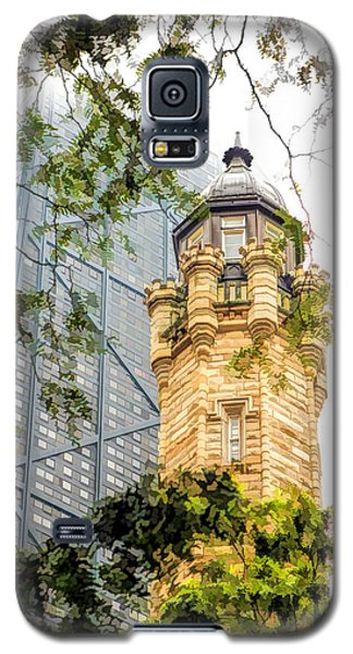 Chicago Historic Water Tower Fog Galaxy S5 Case