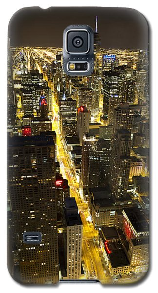 Chicago Is Always Alive Galaxy S5 Case by Shawn Everhart