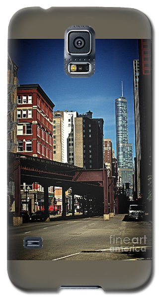 Chicago L Between The Walls Galaxy S5 Case