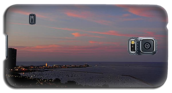Chicago Lakefront At Sunset Galaxy S5 Case