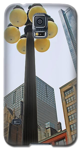 Chicago Lampost Galaxy S5 Case by Cheryl Del Toro