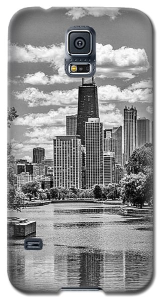 Chicago Lincoln Park Lagoon Black And White Galaxy S5 Case