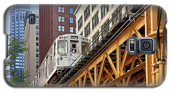 Chicago Loop 'l' Galaxy S5 Case by Christine Till