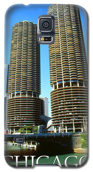 Chicago Poster - Marina City Galaxy S5 Case