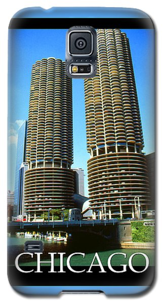 Chicago Poster - Marina City Galaxy S5 Case