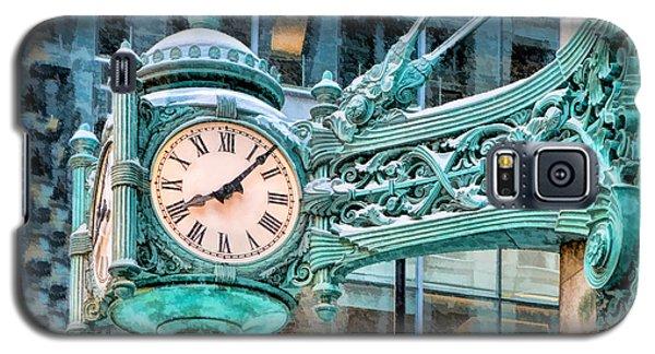 Chicago Marshall Field State Street Clock Galaxy S5 Case