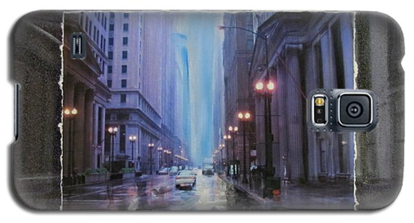Chicago Rainy Street Expanded Galaxy S5 Case
