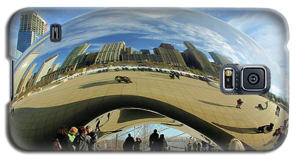 Chicago Reflected Galaxy S5 Case by Kristin Elmquist