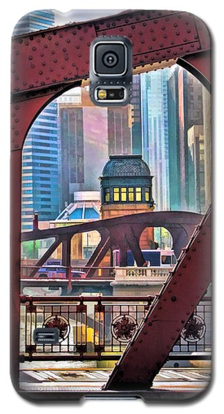 Chicago River Bridge Framed Galaxy S5 Case