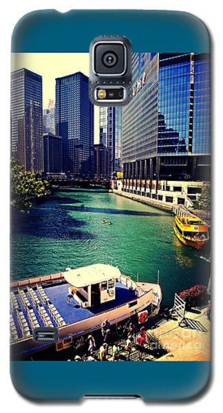 City Of Chicago - River Tour Galaxy S5 Case
