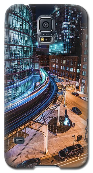 Chicago S Train Galaxy S5 Case