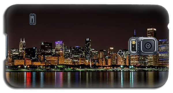 Galaxy S5 Case featuring the photograph Chicago Skyline by Andrea Silies