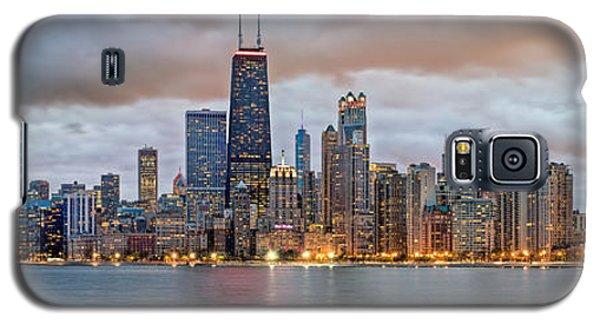 Chicago Skyline At Dusk Galaxy S5 Case