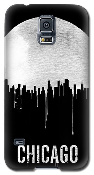 Chicago Skyline Black Galaxy S5 Case by Naxart Studio