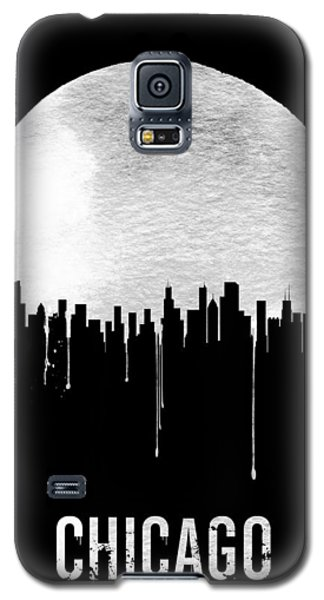 Chicago Skyline Black Galaxy S5 Case by Naxart Studio