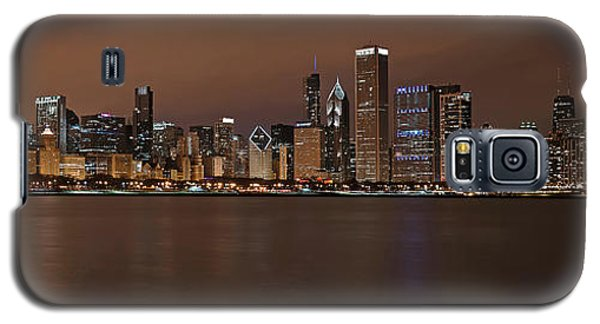Chicago Skyline Panorama Galaxy S5 Case by Eddie Yerkish
