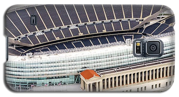 Chicago Soldier Field Aerial Photo Galaxy S5 Case