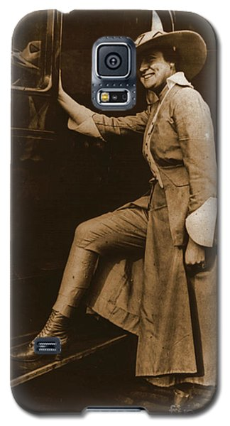 Chicago Suffragette Marching Costume Galaxy S5 Case