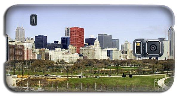Chicago- The Windy City Galaxy S5 Case by Ricky L Jones