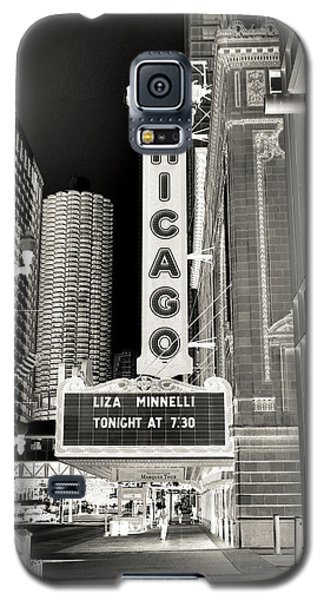 Chicago Theater - 2 Galaxy S5 Case by Ely Arsha