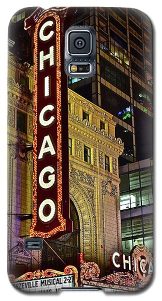 Chicago Theater Aglow Galaxy S5 Case