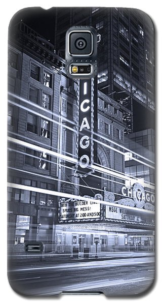 Chicago Theater Marquee B And W Galaxy S5 Case