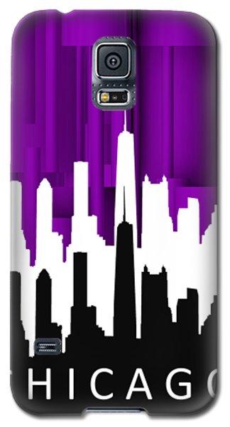 Chicago Violet In Negative Galaxy S5 Case