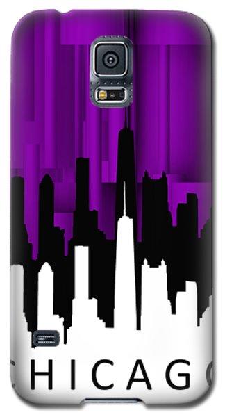Chicago Violet Vertical  Galaxy S5 Case