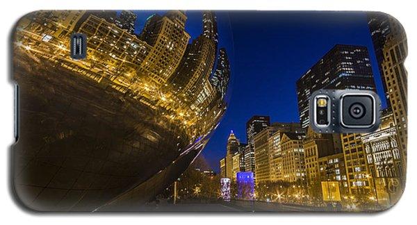 Chicago's Millenium Park At Dusk Galaxy S5 Case