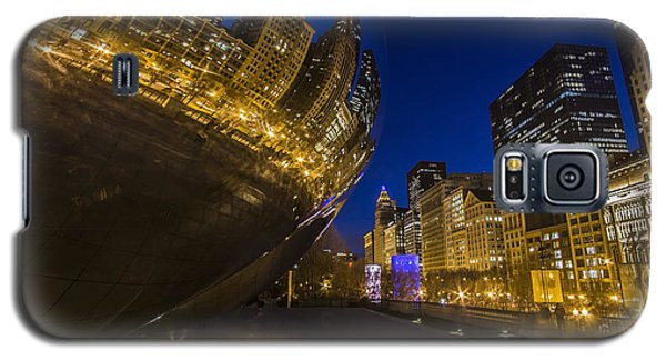 Chicago's Millenium Park At Dusk Galaxy S5 Case