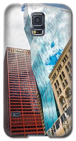 Chicago's South Wabash Avenue  Galaxy S5 Case by Semmick Photo
