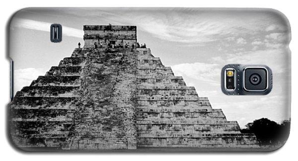 Chichen Itza B-w Galaxy S5 Case