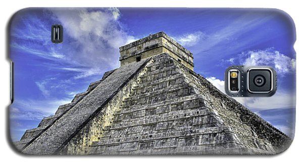 Galaxy S5 Case featuring the photograph Chichen Itza, El Castillo Pyramid by Jason Moynihan