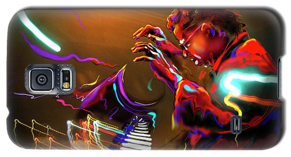 Galaxy S5 Case featuring the painting Chick Corea by DC Langer