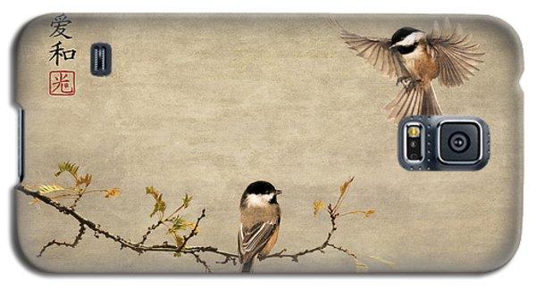 Chickadee Encounter II Galaxy S5 Case