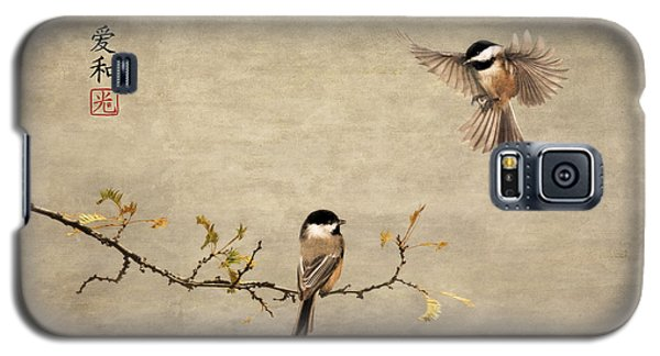 Chickadee Encounter II Galaxy S5 Case