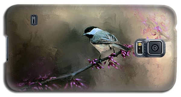 Chickadee In The Light Galaxy S5 Case by Jai Johnson