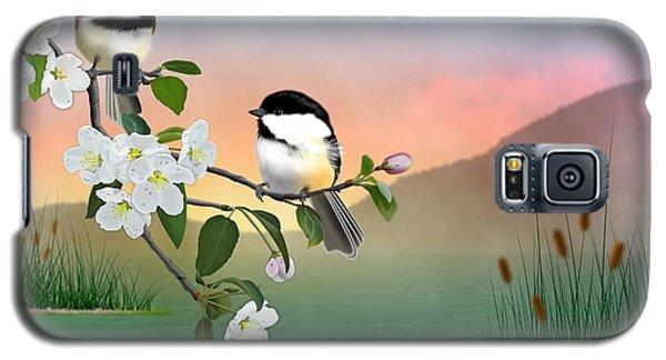 Chickadee Lake Galaxy S5 Case