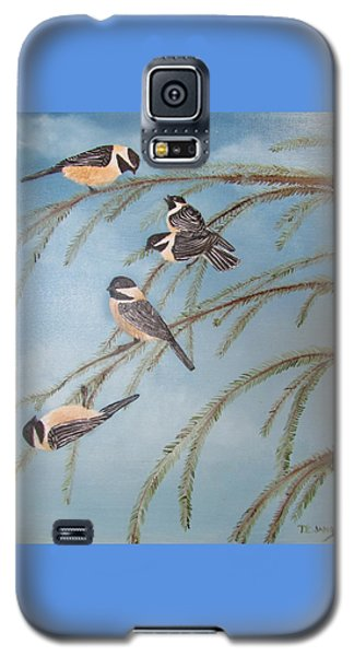 Chickadee Party Galaxy S5 Case