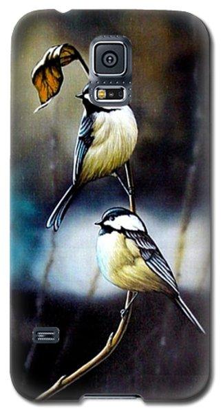 Chickadees Galaxy S5 Case